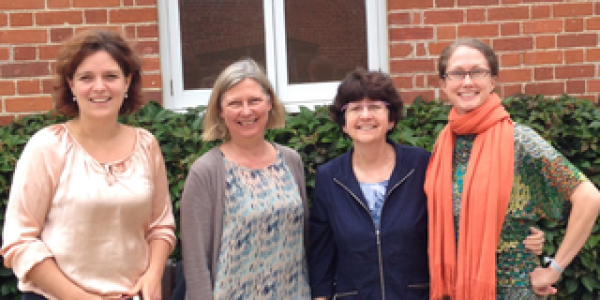 From left, Saskia van der Crabben; Jo Murray; Sharon Plon; Deborah Ritter.
