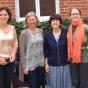 From left, Saskia van der Crabben; Jo Murray; Sharon Plon; Deborah Ritter.